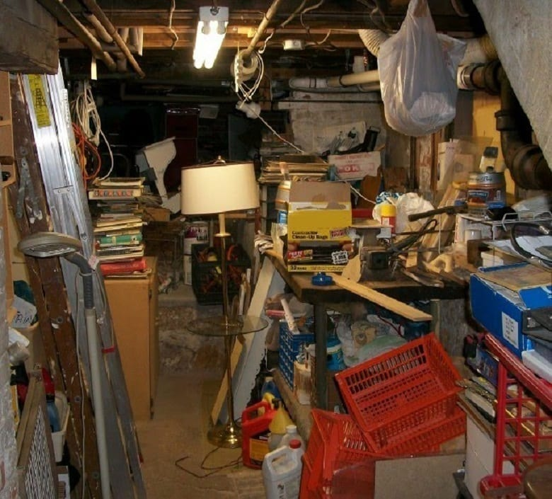 Organizing Basements